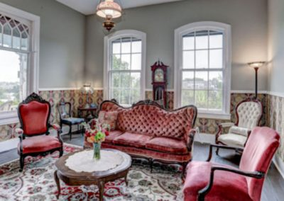 Guest Parlor at Mayneview in Luray VA