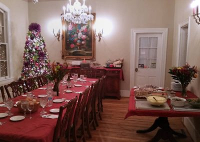 Holiday Dining Room at Mayneview