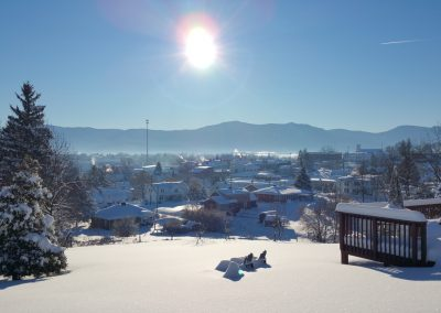Winter at Mayneview B & B in Luray VA