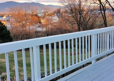 View from Cottage Deckat Mayneview B & B Luray VA