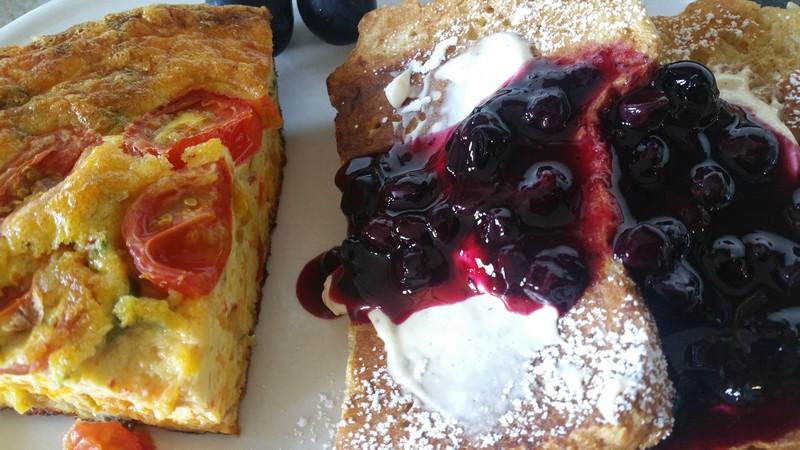 Breakfast at Mayneview B & B Luray VA